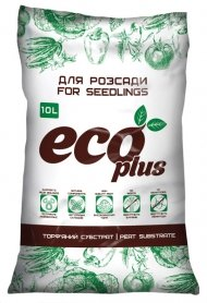 Субстрат для рассады Eco plus, 10л, Peatfield (Питфилд)