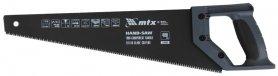 Ножовка по дереву, 400 мм, 7-8 TPI, зуб-3D, MTX, 235499 фото