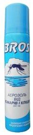 Аэрозоль от комаров и клещей, 90мл, Bros фото