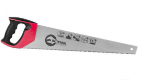 Ножовка по дереву 500мм, каленый зуб, Intertool, HT-3106-2996 фото