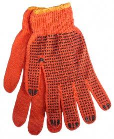 Перчатки трикотажные с ПВХ фото