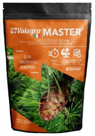 Комплексное минеральное удобрение для хвойных растений Master (Мастер), 250г, NPK 3.11.38, Осень, (Valagro) (Валагро) фото