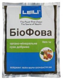 Органо-минеральное универсальное удобрение БиоФова, 1кг, Leili (Леили) фото