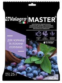 Комплексное минеральное удобрение для черники и голубики высокорослой Master (Мастер), 25г, NPK 13.40.13, Valagro (Валагро) фото