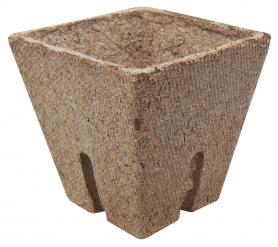 Стаканчик торфяной квадратный Jiffy (Джиффи), 6x6см, 50шт, TM ROSLA (Росла) фото
