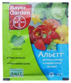Фунгицид Альетт, 10г, Bayer (Байер) фото