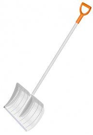 Легкая лопата для уборки снега, Fiskars, 143002 фото