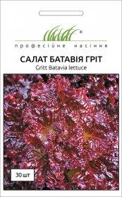 Семена салата Грит, тип Батавия, 30шт, Wing Seed, Голландия, Професійне насіння фото