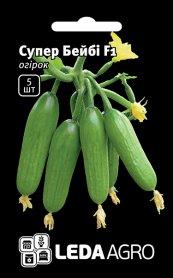 Семена огурца Супер Бейби F1, 5шт, Yuksel, Турция, семена Леда Агро фото