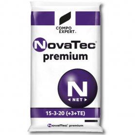 Комплексное минеральное удобрение для газона NovaTec Premium (НоваТек Премиум), 25кг, NPK 15.3.20+ME, Лето-Осень, Compo Expert (Компо Эксперт) фото