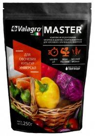 Комплексное минеральное универсальное удобрение для овощных культур Master (Мастер), 250г, NPK 18.18.18, Valagro (Валагро) фото