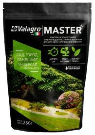 Комплексное минеральное универсальное удобрение для сада, огорода и ландшафта Master (Мастер), 250г, NPK 20.20.20, Весна-Лето, Valagro (Валагро) фото
