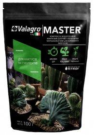 Комплексное минеральное удобрение для кактусов и суккулентов Master (Мастер), 100г, NPK 13.40.13, Valagro (Валагро) фото