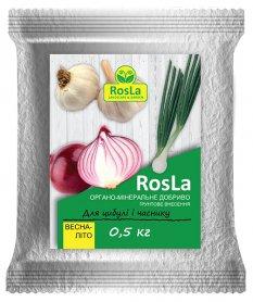 Органо-минеральное удобрение для лука и чеснока, 500г, Весна-Лето, NPK 5.5.5, TM ROSLA (Росла) фото