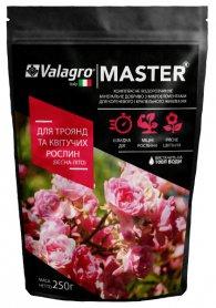 Комплексное минеральное удобрение для роз и цветущих Master (Мастер), 250г, Весна-Лето, NPK 15.5.30, Valagro (Валагро) фото