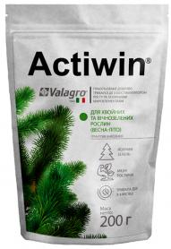 Комплексное минеральное удобрение Actiwin для хвойных и вечнозеленых, 200г, Весна-Лето, NPK 12.5.20, Valagro (Валагро) фото