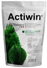 Комплексное минеральное удобрение для туй и самшитов Actiwin (Активин), 200г, NPK 12.5.20, Весна-Лето, Valagro (Валагро) фото