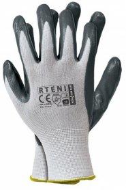 Перчатки рабочие с нитриловым покрытием (RTENI) фото