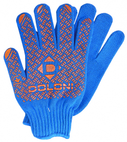 Перчатки трикотажные c ПВХ, Doloni, 4450 фото