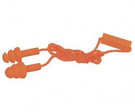 Беруши защитные тройные, на шнурке, Truper, TA-3B фото