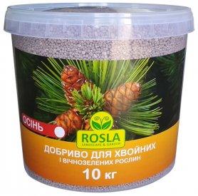 Комплексное минеральное удобрение для хвойных и вечнозеленых растений TM ROSLA, 10кг, NPK 5.15.30, Осень, Arvi Fertis (Арви Фертис) фото