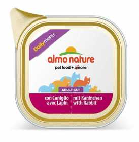 Влажный корм для кошек Almo Nature Daily Menu Паштет с кроликом, 100г фото