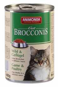 Влажный корм для кошек Animonda Brocconis с птицей и дичью, 400г фото