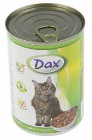 Влажный корм для кошек Dax с кроликом, 415г  фото