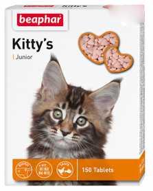 Лакомство для котят Beaphar Kitty's Junior, 150табл. фото