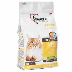 Сухой корм для пожилых котов 1st Choice Senior Mature Less Active со вкусом курицы, 2.72кг фото