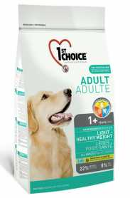 Сухой корм для собак с избыточным весом 1st Choice Light Healthy Weight малокалорийный, 12кг фото