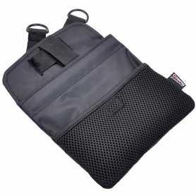 Сумка для лакомств при обучении и тренировки собак Multi-function Teat Bag Coastal, мультифункциональная, черная, ширина 17,5см, высота 22,5см фото