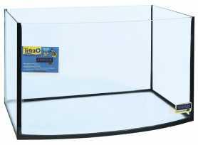 Аквариум Природа прямоугольный с овальной стороной 60х30х40см, 62л фото