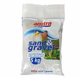 Грунт для аквариума Amtra Amatra SABBIA BIANKA кварцевый белый песок, 5кг фото