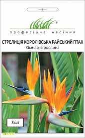 Семена стрелиции Райская птица, 3шт, Hem, Голландия, Професійне насіння, до 2019 фото