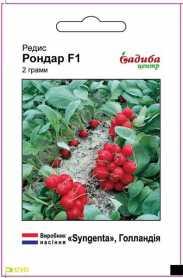 Семена редиса Рондар, 2г, Syngenta, Голландия, семена Садиба Центр, до 2019 фото
