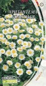 Семена хризантемы болотной, 0.3г, Семена Украины, до 2019 фото