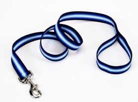 Поводок для собак Trendz Graduated Coastal нейлоновый синий, 1х180см фото