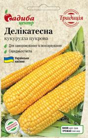 Семена кукурузы Деликатесная, 5г, Украина, семена Садиба Центр фото