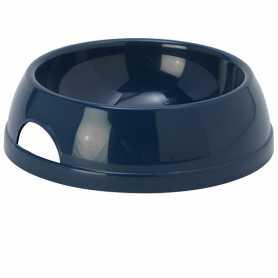 Миска для собак Moderna Eco №2 пластик, черничный, 770мл, d-17см  фото