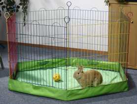 Дно в вольер в манеж для мелких животных Pet Pro, нейлон, 105х105х10 см фото