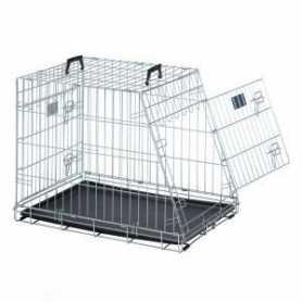Клетка для собак в авто Dog Residence Savic, цинк, 10,7кг, 76х54х62см фото