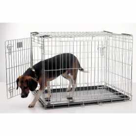 Клетка для собак Dog Residence Savic, цинк, 14,4кг, 91х61х71см фото