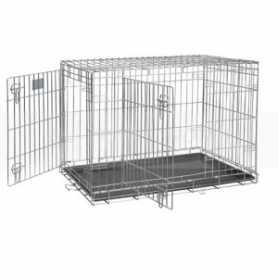 Клетка для собак Dog Residence Savic, цинк, 22,4кг, 118х76х88см фото