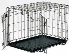 Клетка для собак Dog Residence Savic, цинк, 10,2кг, 76х53х61см фото