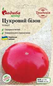 Семена томата Сахарный бизон, 0.1г, Украина, семена Садиба Центр Традиція фото