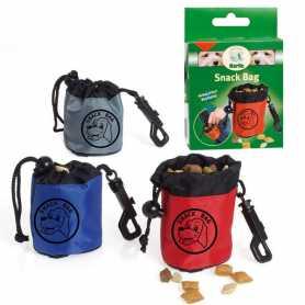 Мешочек для лакомств для дрессировки собак Snack Bag Karlie Flamingo, нейлон, 6,5х7см фото