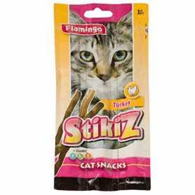 Лакомство для кошек и котят Stikiz Turkey Karlie Flamingo, со вкусом индейки, 15г, 3шт фото