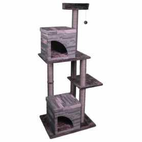 Домик когтеточка для кошек Villa Scratch Pole Karlie Flamingo, 65х55х175см фото