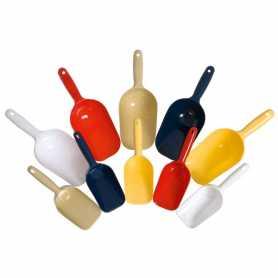 Совок для корма и наполнителя кошек Food Spoon Karlie Flamingo,  пластик, цвет в ассортименте, 28х10см, 600мл фото